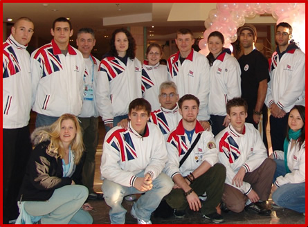 Sanshou Team GB 2008 Olympics